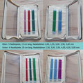 KnitPro Zing Nadelspielsets 15 und 20 cm lang, im durchsichtigen Reißverschlussetui