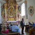Prof. Dr. Peter Morsbach in der Frauenkirche