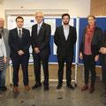 Referenten der Westböhmischen Universität, Simultan-Dolmetscherin und Mitglieder der Akademie