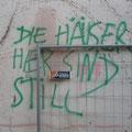 'Die Häuser hier sind still'