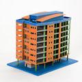 3D Modell aus dem 3D Drucker ZPrinter ProJet x60