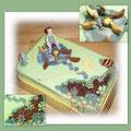 Garten-Torte/Garden cake