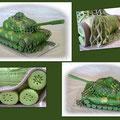 Panzer/Tank --Schokocreme Torte