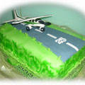 Flugzeug cakes