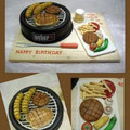 Grill/ Barbecue cake