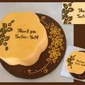 Thankyou/ Dankeschön cakes