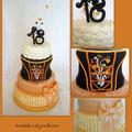 Geburtstags Torte im Dirndl-Look/Birthday cakes