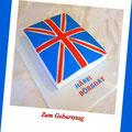 England Fahne Cake