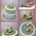 zum 60. Geburtstag/ Birthday cakes