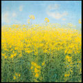 Die gelbe Wolke (The Yellow Cloud), 70x70cm
