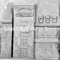 """Des Saalbaus letzter Sommer"" Keramik, 2013"