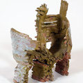 Hertha Hillfon sculpture 'the journey' in stoneware