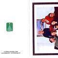 Felicitacion navideña para 2009 - portada y contraportada