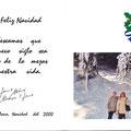 Felicitacion navideña para 2000 - pagina central