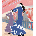 フラメンコ6 Illustration/kaori sato
