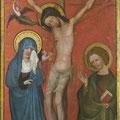 Kreuzigung: Endzustand nach Konservierung und Restaurierung