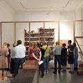 Treffen der VDR Landesgruppe NRW im KWM Krefeld 2018, hier vor der Barraque D`Dull Odde von Joseph Beuys
