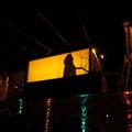 Spectacle son et lumière nocturne Aïcontis 2011
