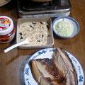 豚汁 鯖の塩焼き とろろ芋