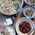 八宝菜 肉団子