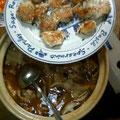 カレー鍋 餃子