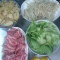 焼肉 筍の炒め煮