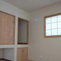 1階 6帖和室(障子・畳・仏壇棚付)