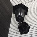玄関照明 ランプ調LED照明