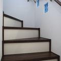 安全性とセンスの両立!2トーンカラー階段
