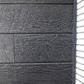 外壁材 窯業系木目&石調サイディングの組合せ