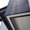 玄関 天井までしっかりサイディング材施工