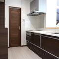 W2550サイズの対面式システムキッチン