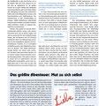 """Interview, Frauenmagazin MATHILDE, Heft 151 (2017), Schwerpunkt """"Selbstliebe&Selbstfürsorge"""""""