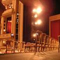 2004: BERLIOZ-REQUIEM. Die noch leere Bühne knapp vor dem Auftritt (Fotos: Equiluz).