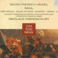 SAUL (Händel); Harnoncourt; Fischer-Dieskau, Johnson, Esswood, Varady, Gale; Concertus Musicus, Konzertvereinigung Wiener Staatsopernchor.