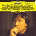 Ein Überlebender aus WARSCHAU (Schönberg); Abbado; Hornik (Sprecher), Wr. Philharmoniker, Konzertvereinigung Wiener Staatsopernchor.