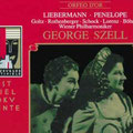 PENELOPE (Liebermann); Szell; Goltz, Rothenberger, Schock, Lorenz, Boehme, Bayle, Berry; Wr. Philharmoniker, Konzertvereinigung Wiener Staatsopernchor.