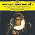 RIGOLETTO (Verdi); Giulini; Cappuccilli, Cotrubas, Domingo, Obraztsova, Ghiaurov, Moll, Schwarz; Wr. Philharmoniker, Wiener Staatsopernchor.