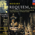 MOZART REQUIEM; Solti; Auger, Bartoli, Cole, Pape; Wr. Philharmoniker, Konzertvereinigung Wiener Staatsopernchor.