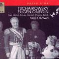 Eugen ONEGIN (Tschaikowsky); Ozawa; Freni, Dvorsky, Brendel, Ghiaurov, Zednik; Chor und Orchester der Wiener Staatsoper.