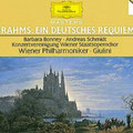 Ein DEUTSCHES REQUIEM (Brahms); Giulini; Bonney, Schmidt; Wr. Philharmoniker, Konzertvereinigung Wiener Staatsopernchor.
