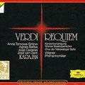 MESSA DA REQUIEM (Verdi) Karajan; Tomova- Sintov, Baltsa, Carreras, van Dam; Wr. Philharmoniker, Konzertvereinigung Wiener Staatsopernchor.