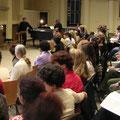 2004: BERLIOZ-REQUIEM. Musikalische Probe unter Ozawa mit dem Chor aus Bratislava (Fotos: Equiluz).