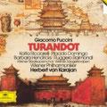 TURANDOT (Puccini); Karajan; Ricchiarelli, Hendricks, Domingo, Raimondi; Wr. Philharmoniker, Wiener Staatsopernchor.