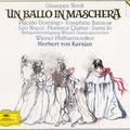 Un BALLO IN MASCHERA (Verdi); Karajan; Barstow, Sumi Jo, Quivar, Domingo, Nucci; Wr. Philharmoniker, KV-Staatsopernchor.