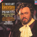 IDOMENEO (Mozart); Pritchard; Pavarotti, Baltsa, Popp, Nucci; Wr. Philharmoniker, Konzertvereinigung Wiener Staatsopernchor.
