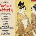 Madama BUTTERFLY (Puccini); Karajan; Freni, Pavarotti, Ludwig, Kerns; Wr. Philharmoniker, Konzertvereinigung Wiener Staatsopernchor.