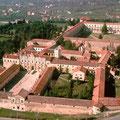 Vista aerea Certosa di San Lorenzo a Padula