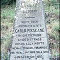 Tomba di Carlo Pisacane in località  Sanza, SA