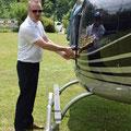 Bell 206 Jet Ranger, HB-XXO, Rundflugtage Mettau, Expo Duo, Pilot Philipp Walker